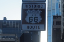 The beginning of Route 66
